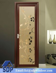 Frosted glass bathroom door products 49 New Ideas Window Glass Design, Frosted Glass Design, Door And Window Design, Front Wall Design, Frosted Glass Door, Wooden Door Design, Sliding Glass Door, Etched Glass Door, Etched Mirror