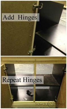 add hinges