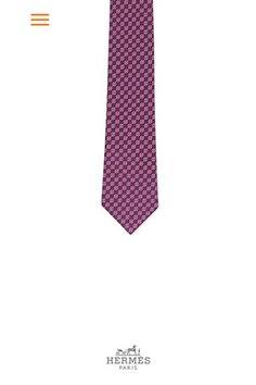 Hermès' Tie Break mobile app. [Courtesy Photo]