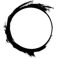 Zen Symbol Circle Tattoo photo - 3