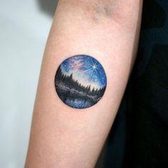 25+ Unique Night Sky Tattoo Ideas