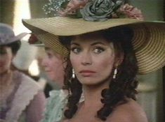 Madeleine Fabray at the barbeque given by Tillet to honour his son Orry's graduation and Orry and George's forthcoming participation in the Mexican War. (This is one of my favourite Madeleine outfits)