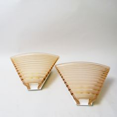 Pair of wall lamps Pergamo by Angelo Mangiarotti Artemide