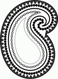 Inkscape Tutorial Paisley Motif