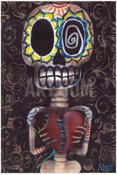 Toma Mi Corazon Art Print by Abril Andrade at Art.com