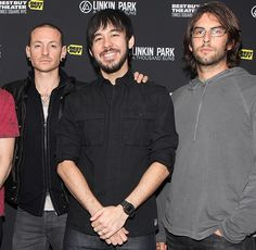Chester. Mike, and Rob - Linkin Park