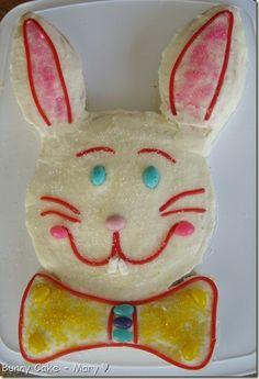 easy to make heart shape cake   Easy To Make Bunny Shaped Cake