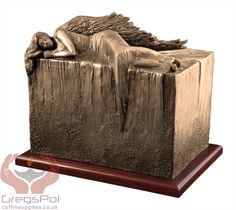 Unique Artistic Urn Angel at Rest Cremation Urn Funeral Urn For Adult