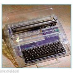Refurbished Swintec 2410CC Clear Cabinet Electronic Typewriter