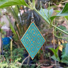 work in progress. one down, one more to go. ©️2018 design created by Kwix Jewelry. #kwixjewelry #kwixjewelryoriginaldesign #wip #originaldesign #beadedearrings #beadedwork #beadedjewelry #beads #beading #beader #beadedjewellery #brickstitch #brickstitchearrings #beadweaving #handmade #handmadeearrings #handmadejewelry #seedbeads #seedbeadjewelry #seedbeadearrings #art #supporthandmade #buyhandmadejewelry #jewelrydesigner #jewelry #smallbusiness #localartist #earrings #lovebeads