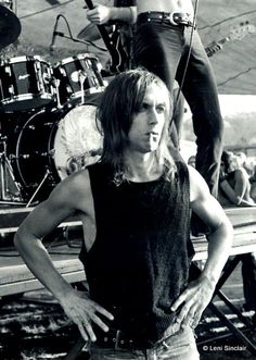 Young Iggy Pop All We Need Is Music Sweet Music