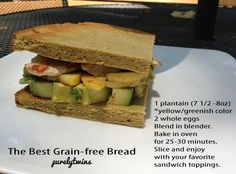 Flour-free Bread