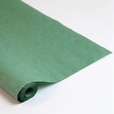 Grøn Papirsdug Rulle 25 x 1,2 m - Single