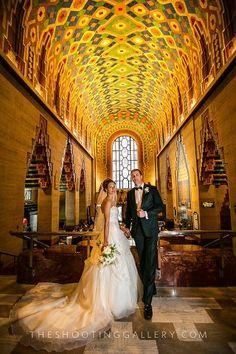 Rowland cafe wedding