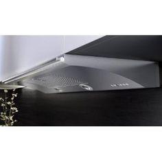 "Genova 30"" Stainless Steel w/glass under cabinet hood, slide-out, 500CFM $808"