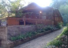 New Braunfels Vacation Rental - VRBO 284479 - 1 BR Hill Country Cabin in TX, Riverfront Cabin - Guadalupe River - Next to the 'Chute'...
