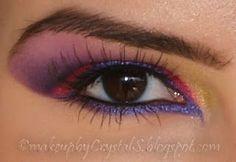 Disney's Alice in Wonderland Cheshire Cat Inspired Makeup