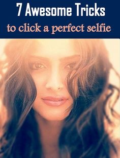 How to Click that Perfect #Selfie: Tips to Help You Get that Million Dollar #Picture!  http://www.feminiya.com/how-to-click-that-perfect-selfie-tips-to-help-you-get-that-million-dollar-picture/