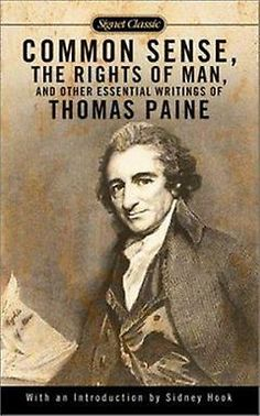 A comparison of thomas paine and thomas jeffersons writings