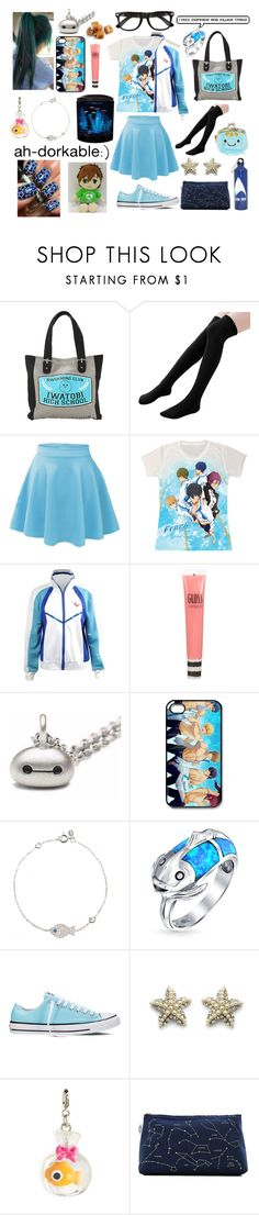 """""""My true aesthetic"""" by supernova-1000 ❤ liked on Polyvore featuring Hot Topic, Topshop, Metal Mixology, Latelita, Bling Jewelry, Converse, Chicwish, Charm It! and MAKOTO"""