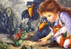 Для чего нужны нам сказки? Художник-иллюстратор Zorina Baldescu: Дневник группы «ART Искусство»: Группы - женская социальная сеть myJulia.ru