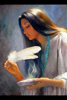 Feather blessings.