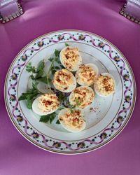 Smoked-Salmon Deviled Eggs Recipe on Food & Wine