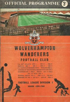 WOW - WOLVES FOREST 1959 CHARITY SHIELD