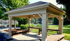 We take pride in our work and it shows. Patio Ideas, Outdoor Ideas, Backyard Ideas, African Hut, Gazebo, Pergola, Outdoor Retreat, Carpentry, Pavilion