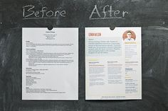 Loft Resumes will redesign your resume for a little personality. Great business idea!