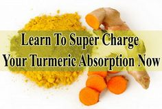 That fact: turmeric is fat-soluble, and you want to be able to absorb this magneficent food to experience all of the health benefits it has to offer. http://www.extremenaturalhealthnews.com/learn-to-super-charge-your-turmeric-absorption-now/