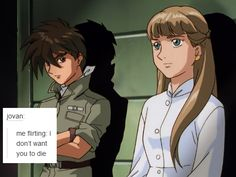 Rewatched Gundam Wing recently. Love the text post meme. Might fix up the theme later, but since this is for funsies, ain't worried about it. Duo Maxwell, Heero Yuy, Gundam Wallpapers, Gundam Wing, Mecha Anime, Mobile Suit, Text Posts, Me Me Me Anime, Nerd