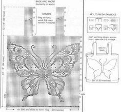 Связать бабочку крючком. Обсуждение на LiveInternet - Российский Сервис Онлайн-Дневников
