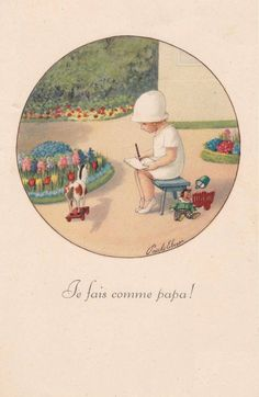 Pauli Ebner (1873-1949) — Old Post Cards (586x900)