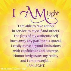 Purple Lotus Spiritual Healing • I am light. #iamlight #divine #affirmation...