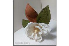 #crepepaper #magnolia #cartacrespa