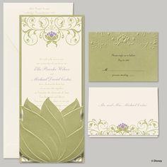 princess and the frog wedding theme | Princess and the Frog Invitations