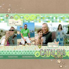 catalina island - Scrapbook.com