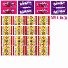 Halloween Candy Wrapper Templates by Toni Ellison