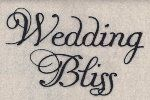 Wedding Bliss Embroidery Font  by 8Clawsandapaw.com