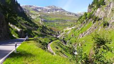 Grimsel (from Oberwald) - shortly before Gletsch Alps, Mountains, Nature, Travel, Italia, Naturaleza, Viajes, Trips, Off Grid