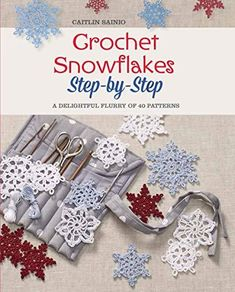 Free Crochet Snowflake Patterns, Crochet Stars, Christmas Crochet Patterns, Holiday Crochet, Crochet Snowflakes, Thread Crochet, Crochet Crafts, Crochet Flowers, Crochet Angels