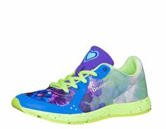 """Buy online Desigual Running Shoes """"Airlia"""", Blue sneakers in floral design. Great for any sport. Spanish Shoes, Blue Sneakers, Sports Women, Fitness Fashion, Running Shoes, Cool Designs, Sandals, Boots, Stuff To Buy"""