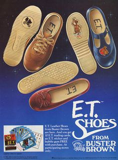 E.T. shoes from Buster Brown