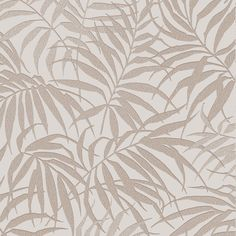 Tropic Beige/Rose Gold Wallpaper by Graham and Brown