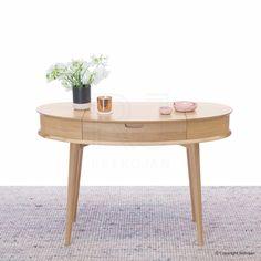 Buy Madeline Danish Inspired Dressing Table   Scandinavian Table   Dresser– Retrojan