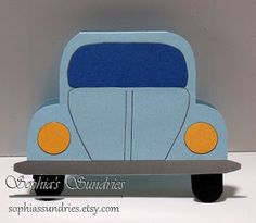 Sophia's Sundries (formerly Frugal Ideas from the Parsonage): VW Beetle Bug Cards.   Pinned by Colleen Hastings SU Demonstrator