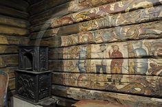 Oslo, presqu'île de Bygdoy, musée du Folklore norvégien (Norsk Folkemuseum)…