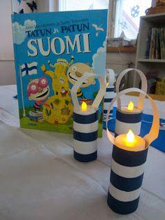 OpenIdeat: Suomea ja itsenäisyyttä Kindergarten Crafts, Preschool Crafts, Crafts For Kids, Finnish Independence Day, Finland Culture, Christmas Handprint Crafts, Diy And Crafts, Arts And Crafts, Cultural Crafts