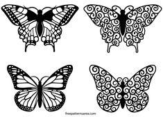 Butterfly Clipart Vector Art Files